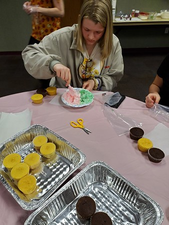 Teen Cupcake Decorating - March 2020