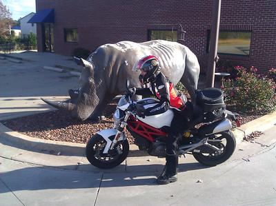 Ducati Rear Tail Bag