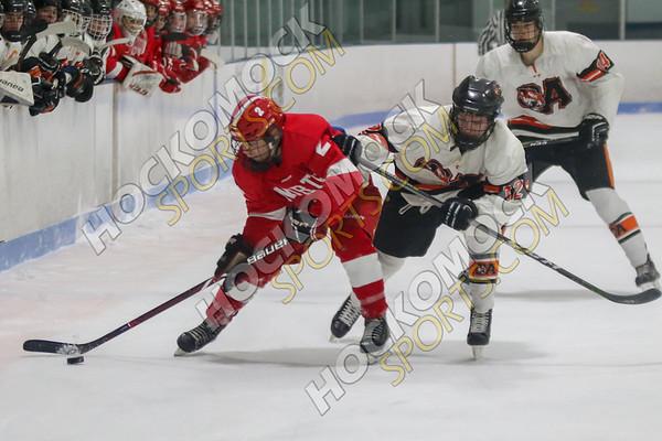 Oliver Ames-North Attleboro Boys Hockey - 01-16-19