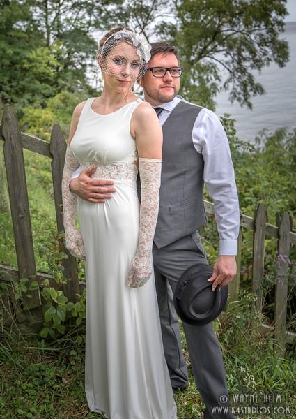 Bride and Groom   Photography by Wayne Heim