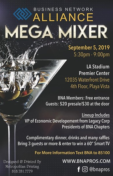 Business Network Alliance 2019 Mixer