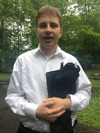 Jacob's 9th Grade Spring Concert
