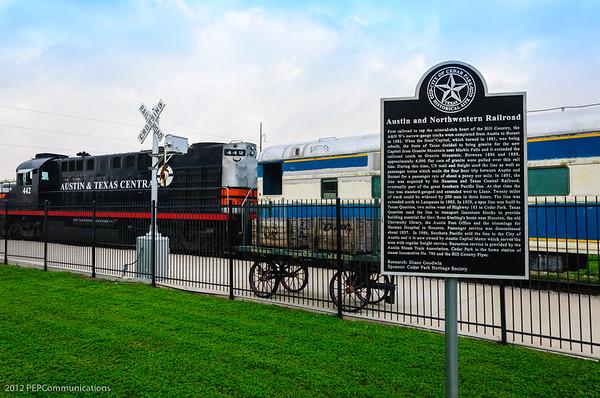 2012 Austin Steam Train