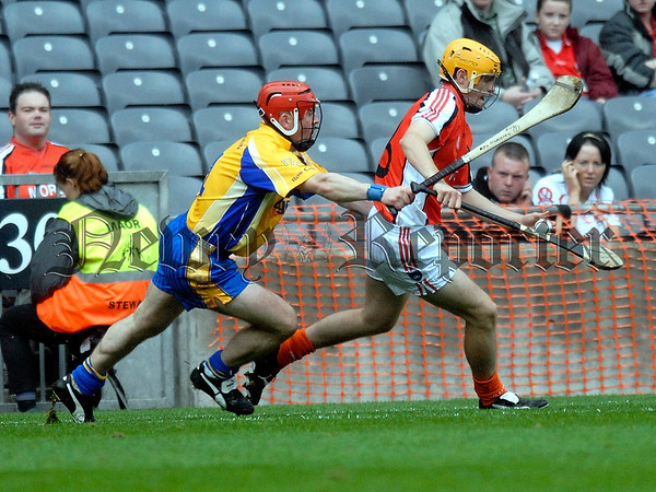 Nicky Rackard Cup Final Armagh V Roscommon. Armaghs Declan Coulter 07W33N254