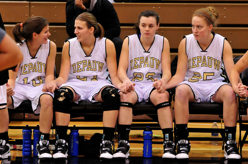 DePauw Womens BB vs Colorado College 2011