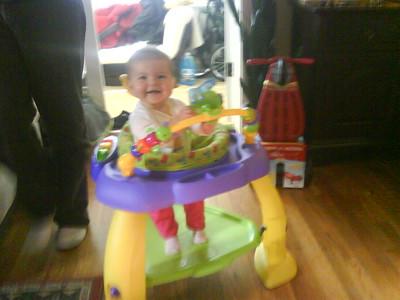 Anna's Camera Pics of Baby Mia 2008
