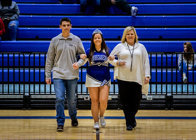 Basketball Senior Night - Photographer - Jaxson Floyd