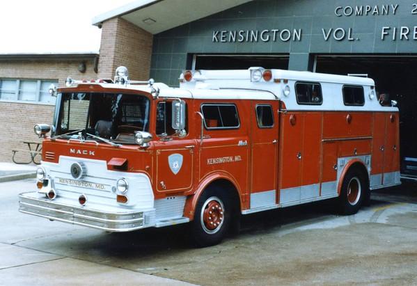 Company 25 - Kensington Fire Department