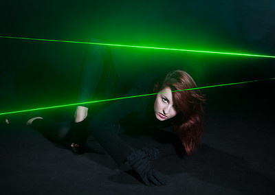 Amber and Frikkin Lasers