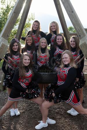 2010 NP Cheerleaders