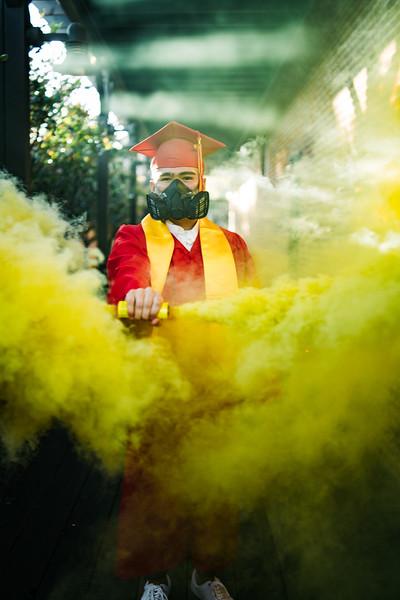 Isaiah Graduation Portraits