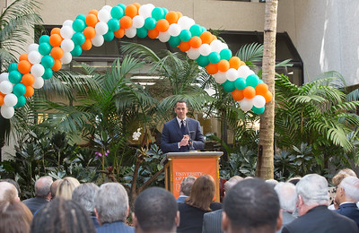 Alex Rodriguez Courtyard Dedication - February 17, 2017