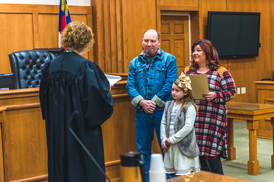 Kadence's Adoption Ceremony