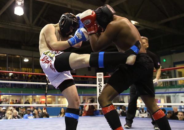Abayomi Reaves (red) vs. Netherton B (blue)