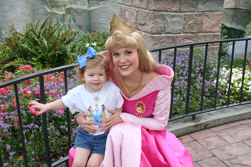 Day Three a day of Princesses! Maren and Sleeping Beauty!