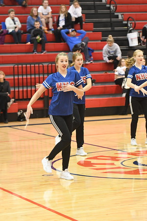 Dance Team @ Plattsmouth BB game