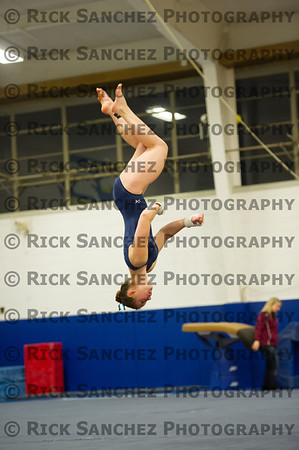 01-11-13 Sandburg Girls Gymnastics Sr Night