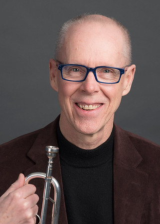 John Winkler with trumpet