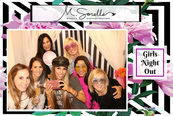 GIRLS NIGHT OUT at M. Sorelle Boutique