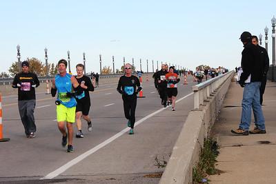 2015 Detroit Marathon  (Belle Isle)