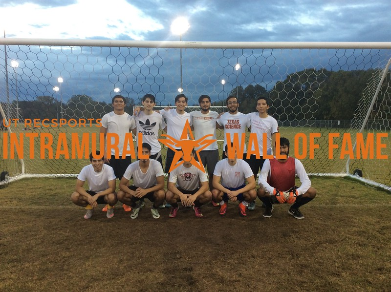 7v7 Fall 2017 Soccer Men's B Champion The Lizard Kings
