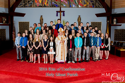 Holy Ghost Confirmation 2016
