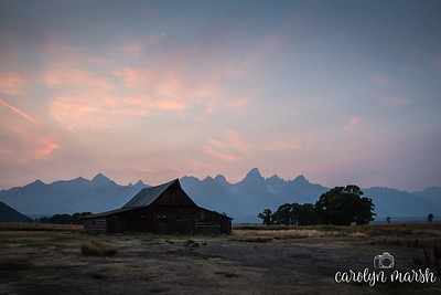 Grand Tetons Photography Workshop Sept 2017