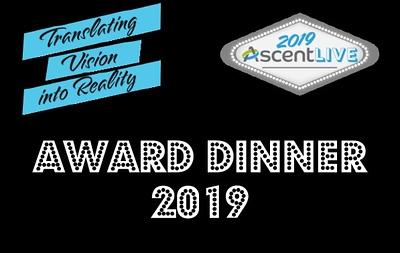 ASCEND AWARD DINNER 2019