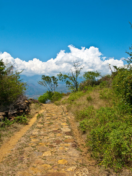 ancient walkway to guane
