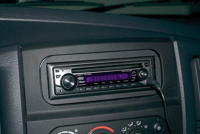 New radio in truck