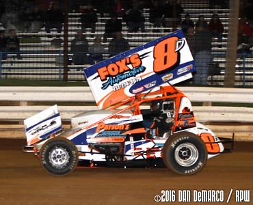 Williams Grove Speedway - 4/15/16 - Dan DeMarco