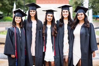 Manali, Prachi, Mashaal, Sachi & Sivangi Graduation Shoot 2017