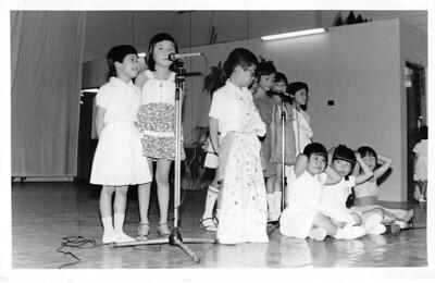1986 Concert for Parents  FD Programme
