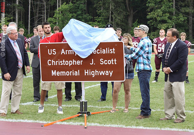 Chris Scott Highway Dedication