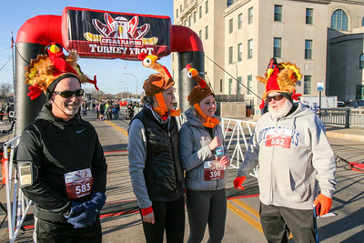Cedar Rapids Turkey Trot - 2017