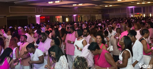 2015 Pink & White Party Party featuring Will Downing