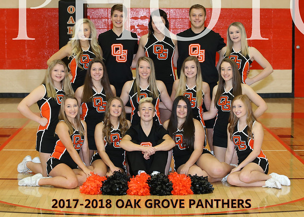 2017-2018 OGHS Cheerleading