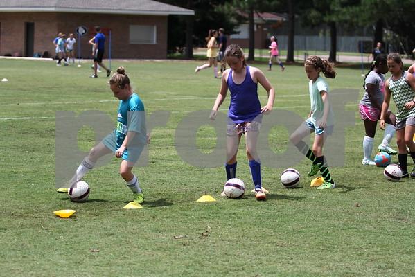 2015 Girls Soccer Camp
