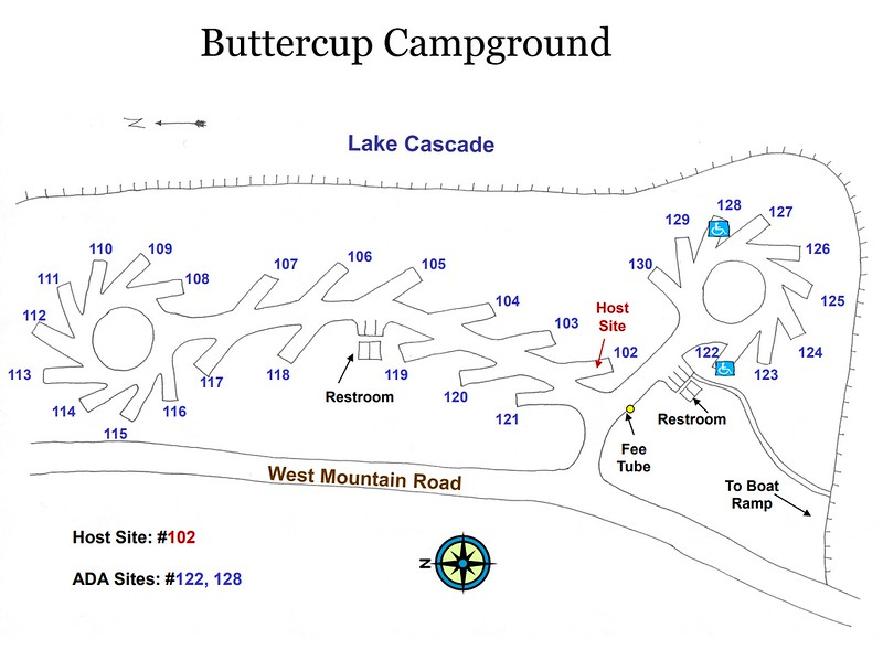 Lake Cascade State Park (Buttercup Campground)