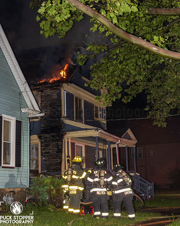 House Fire - 351 4th St, Rochester, NY - 6/29/21