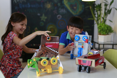 Dino Bug Robot Racer