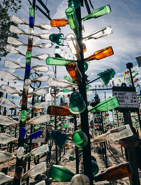 Route 66 - Bottle Tree Ranch, Mojave Desert