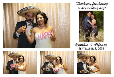 Cynthia & Alfonso's Photo Booth