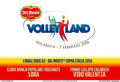 Globo Banca Pop. Frusinate Sora - Tonno Callipo Vibo Valentia   Finale Coppa Italia #A2M