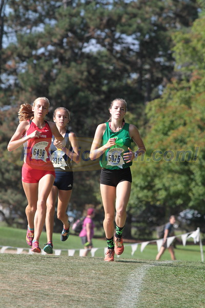 Girls White HS - 2018 Auto Owners Spartan Invitational XC