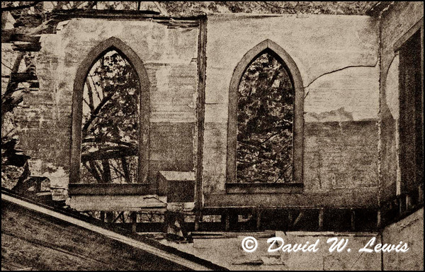 St. John's Church Windows, Stotesbury WV. 2012