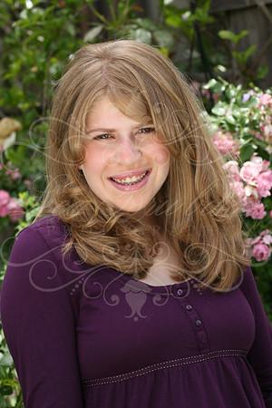 Kirsten's Bat Mitzvah Portraits!