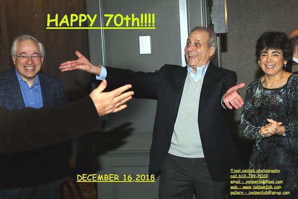 JON'S 70th BIRTHDAY GATHERING - DEC 16, 2018