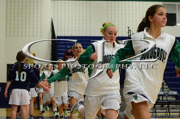 1-4-2013 Loudoun County at Woodgrove Girls Basketball (Varsity)