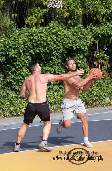 Basketball at Hastings Park